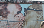 Mural from East Side Gallery, Berlin Wall