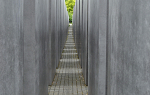 At the Holocaust Memorial