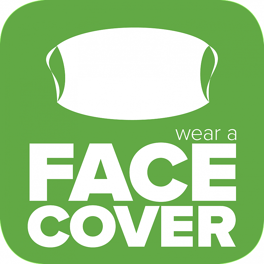 Landmark College COVID-19 Wear a Face Covering icon