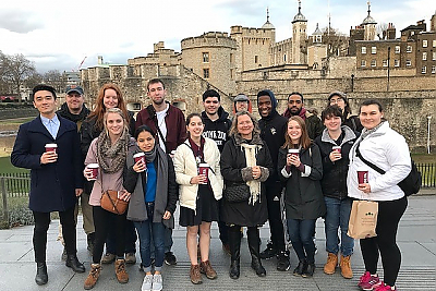 Landmark group at the Tower of London