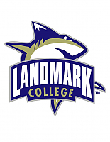 Landmark College Shark athletics logo