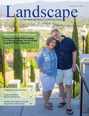Doug and Kristen Killin on the cover of Landscape, 2018 Summer/Fall Edition