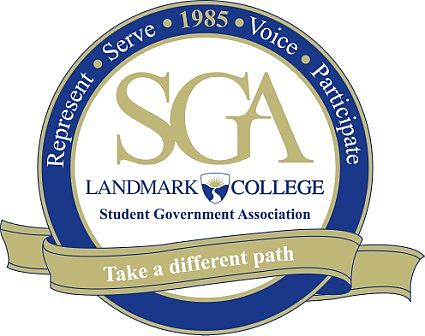 Landmark College Student Government Association Logo