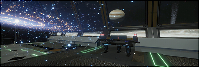 Screenshot image from the UniVRSal research project