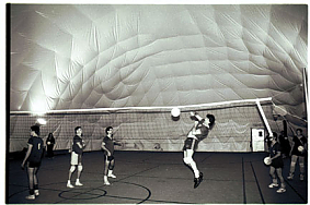 Volleyball under the dome