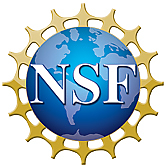 National Science Foundation logo (image of earth with letters NSF)