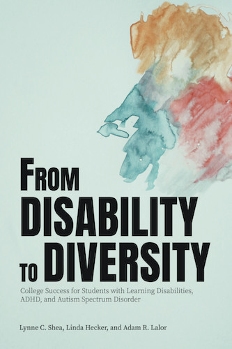 Book Cover of From Disability to Diversity