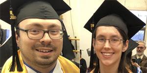 Headshot of Chris Beaulieu and Sarah Lennox