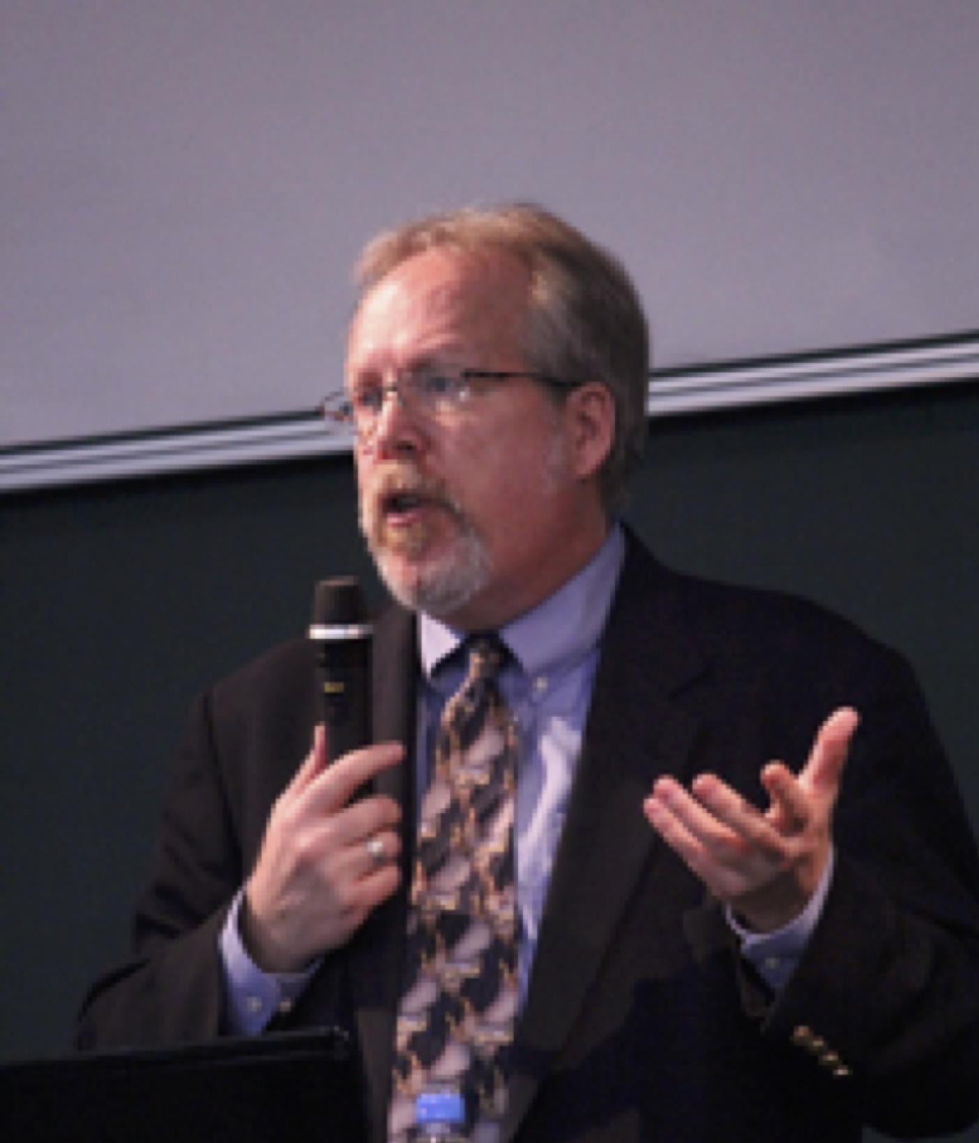 Keynote speaker David R. Parker