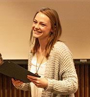 President's Award winner Erica Loveland