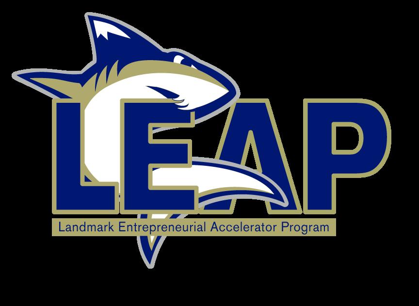 The Landmark Entrepreneurship Accelerator Program (LEAP) logo