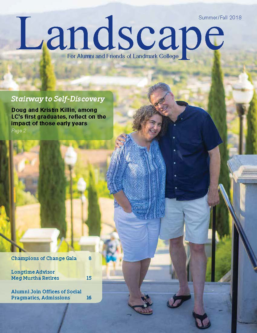 Cover of 2018 issue of Landscape Magazine