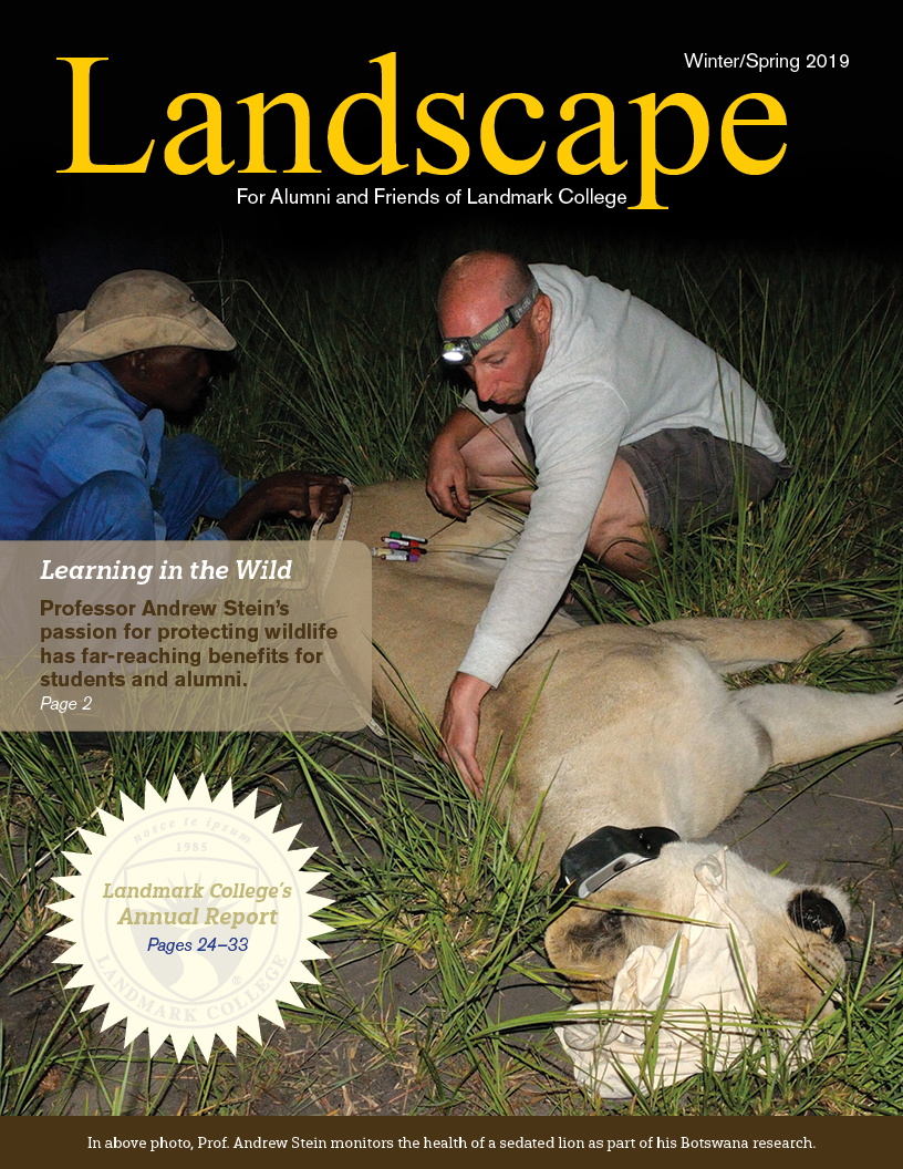 Cover of 2019 Winter issue of Landscape Magazine