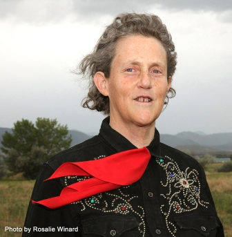 Headshot of Temple Grandin
